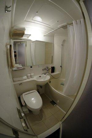 APA hotel Tsukiji Eki Minami: toilet
