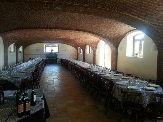 Pianezza, İtalya: Sala da pranzo