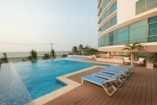 Radisson Cartagena Ocean Pavillion Hotel: Ocean view swimming pool