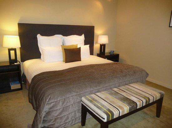 Select Braemar Lodge & Spa : Comfortable bed
