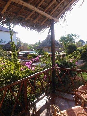 Zanzibar Star Resort: Her er utsiktsen fra rommet vårt :)