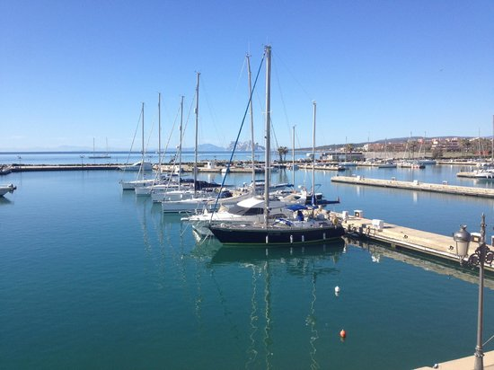 Club Maritimo de Sotogrande: Breakfast terrace view
