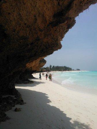 Zanzibar Star Resort: En fantastisk strand :) Kun noen minutter fra hotellet
