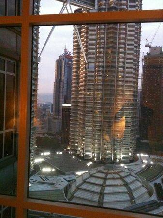 Mandarin Oriental, Kuala Lumpur : Vue de la chambre