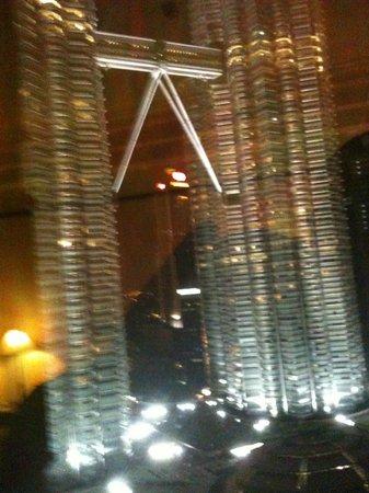 Mandarin Oriental, Kuala Lumpur: Vue de la chambre