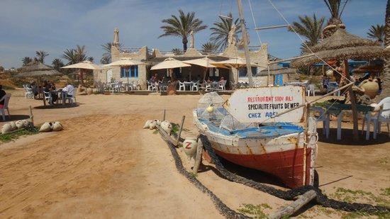 Restaurant Sidi Ali Adel : uitzicht restorant