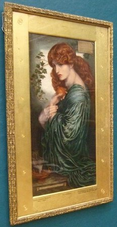 Birmingham Museum & Art Gallery: Rossetti「Proserpine」