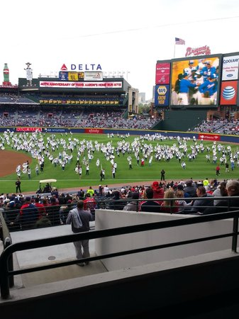 Turner Field: Opening night 2014