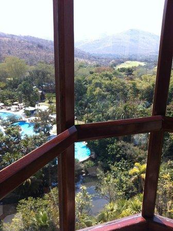 Cascades, Sun City : View from lift