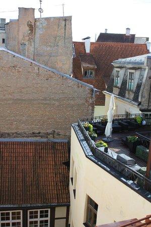 Ala Hotel & Hostel: Вид из окна