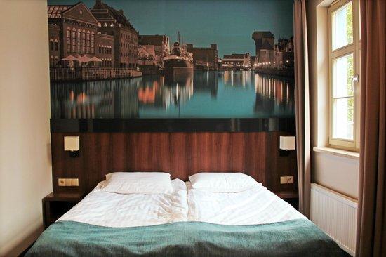 Aparthotel Neptun: Fototapeta w pokoju dwuosobowym
