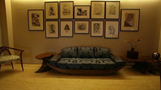 juSTa Gurgaon Hotel: the Lobby!