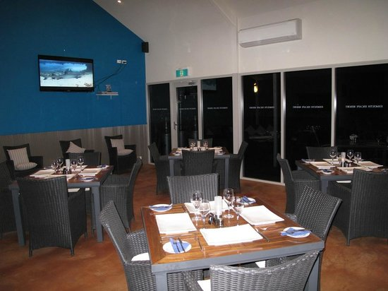 Milly's Place: Air Conditioned inside Dining