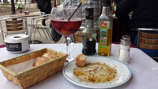 Restaurante Amore: fresh bread