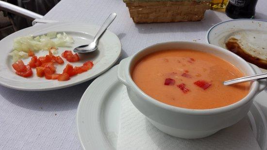 Restaurante Amore: gazepacho