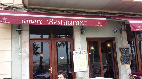 Restaurante Amore: the restaurant