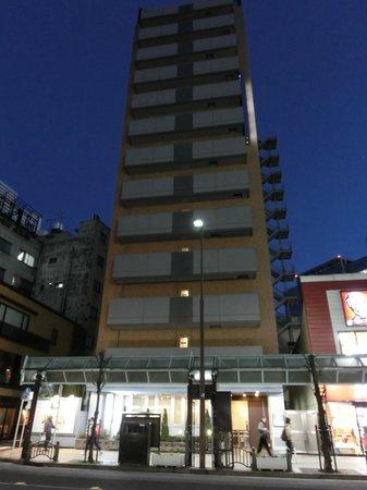R&B Hotel Kamata Higashiguchi: 外観
