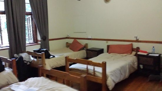 Pretoria Backpackers and Travellers Lodge: My room