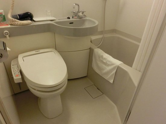 R&B Hotel Kamata Higashiguchi: 浴室