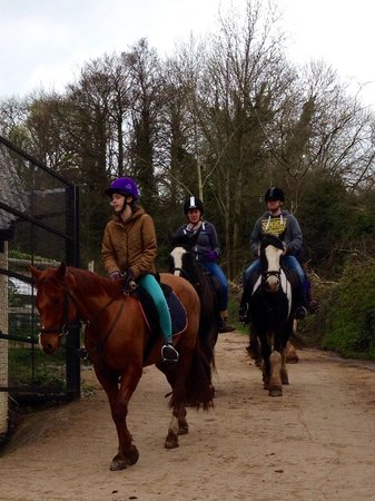 Quantock Trekking: Returning from the best hack ever :)
