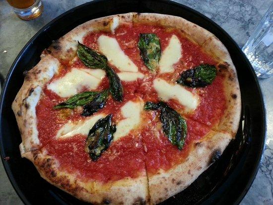 Margherita pizza at Piatto in St. John's.