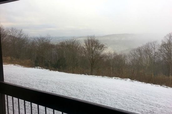 Pipestem Resort State Park : Taken from our McKeever Lodge room