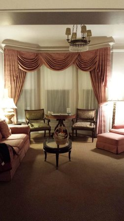 Hotel Majestic: king suite