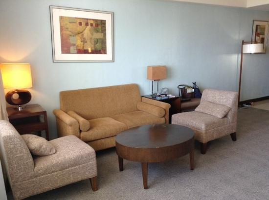 Sotogrande Hotel & Resort: Living room in the Suite