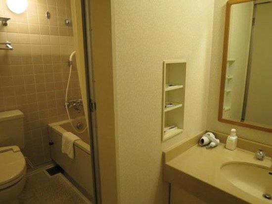 APA Resort Joetsu Myoko: 洗面台が広いので使いやすいです