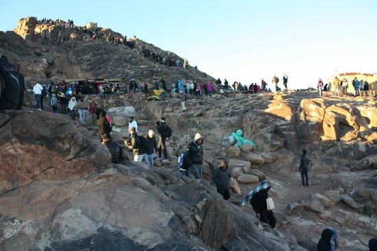 Mount Sinai: Вершина