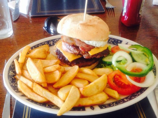 Seaton Restaurant: Maz'burger!!!!