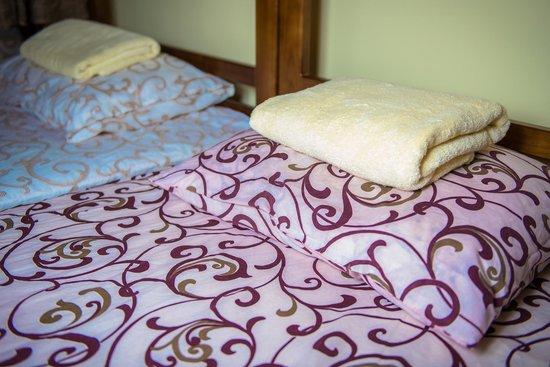 Centro Hostel: Есть кровать размером 2 на 2 метра