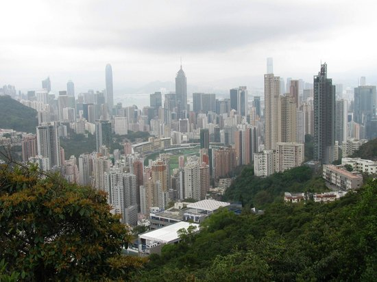 Walk Hong Kong : Overlook of Hong Kong from the vantage point of where the battle took place