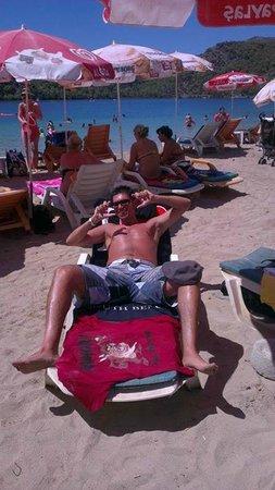 Sea Horse Beach Club: plaj