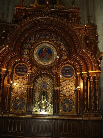 Astrological clock in Beauvais Cathedral