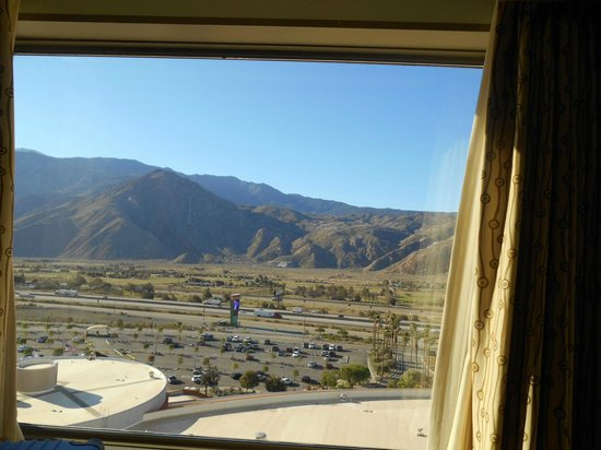 Morongo Casino, Resort & Spa: View from the room.