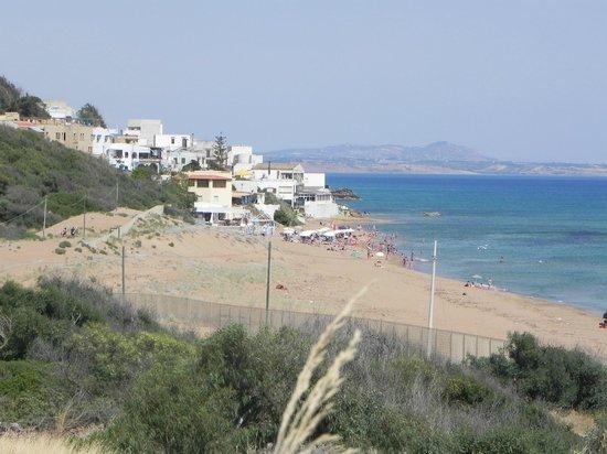Grand Hotel Selinunte : plage a 30 min