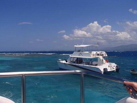 Iberostar Costa Dorada : VIP yatch Paradise Island