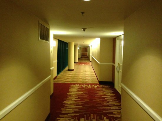Newport Beach Marriott Bayview: Hallway