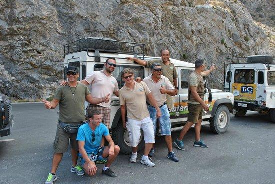 Club Marmara Rethymno Palace : Excursion en Jeep Safari