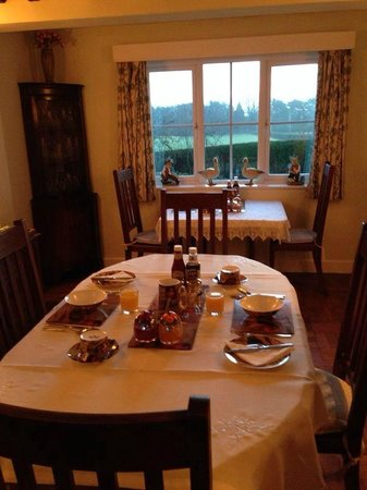 Ingon Bank Farm: Copa pronta para o café da manhã