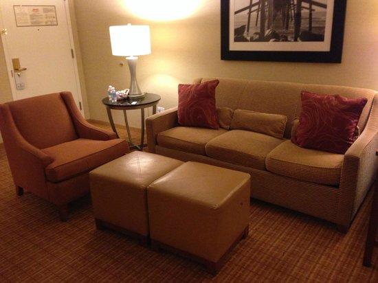 Newport Beach Marriott Bayview : Sitting Area