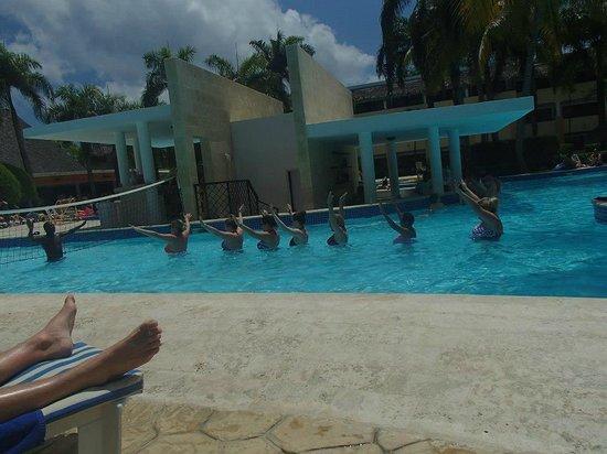 Iberostar Costa Dorada : Water aerobics