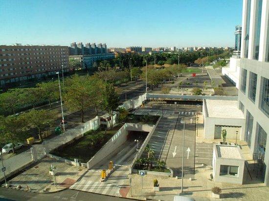 Hilton Garden Inn Sevilla: View of area from hotel room