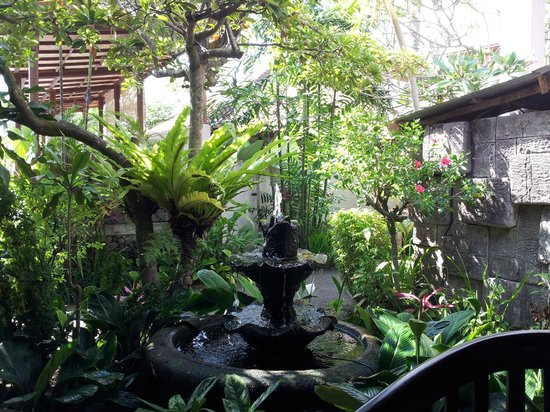 Taman Harum Cottages: from the sitting area