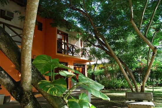 Serra Grande, BA: Frente Hotel
