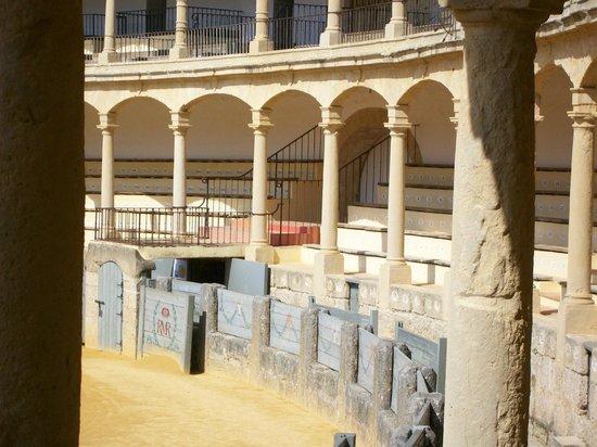 Plaza de Toros: inside bullring