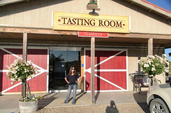 Proulx Wines: Tasting room