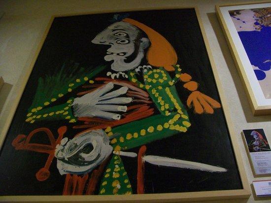 Plaza de Toros: Picasso painting in museum