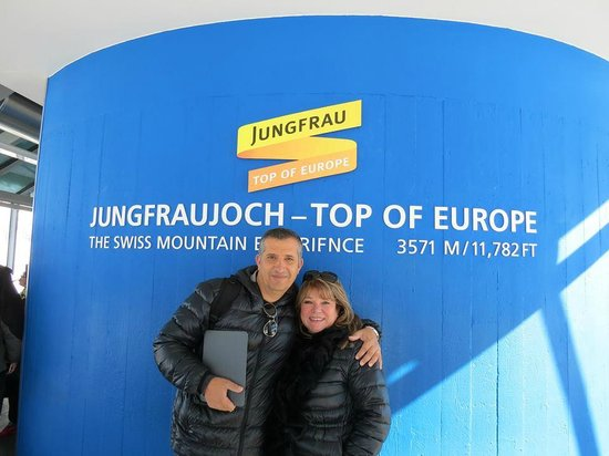 Jungfraujoch : Top of europe